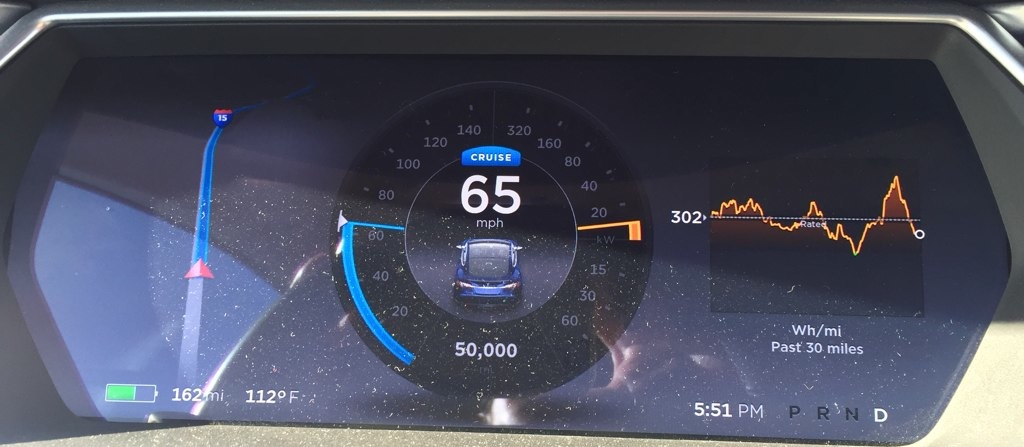 50000 miles after three years